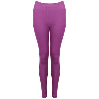 View Item Purple Denim Leggings